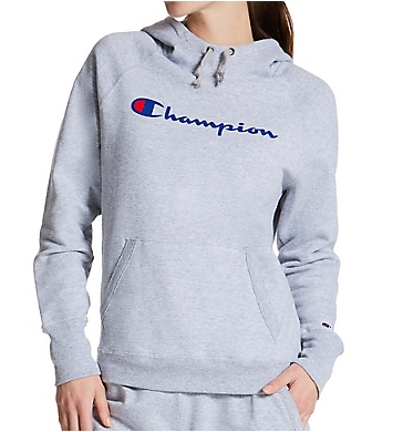Champion Powerblend Fleece Graphic Pullover Hoodie