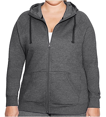 Champion Plus Size Fleece Full Zip Hoodie Jacket