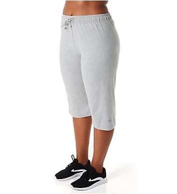 Champion Plus Size Jersey 18 Inch Capri Pant