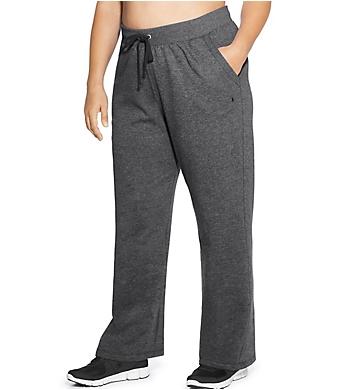 Champion Plus Size Fleece Front Pocket Open Bottom Pant