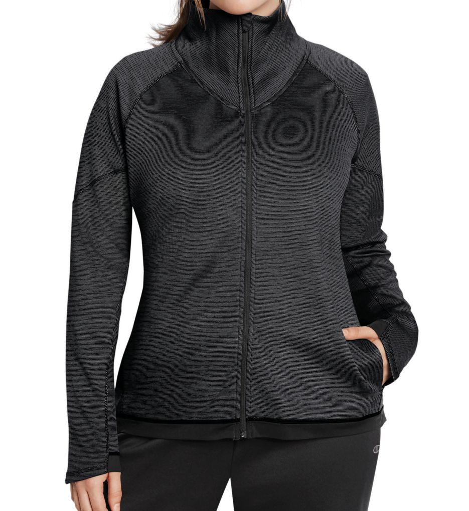 Champion Tech Fleece Plus Size Duofold Warm CTRL Jacket