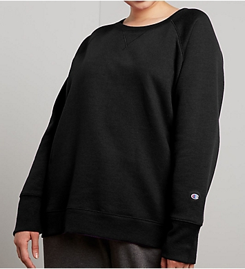 Champion Powerblend Plus Size Fleece Crew Neck Pullover