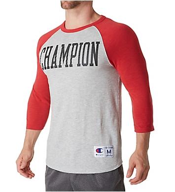 Champion Heritage Baseball Slub Vintage T-Shirt