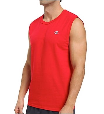Champion Cotton Jersey Athletic Fit Muscle Tee