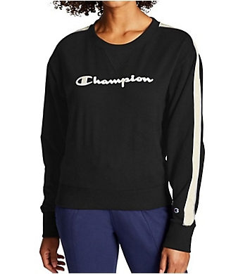 Champion Heritage Fleece Crew Neck Pullover with Taping