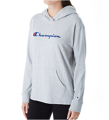 Champion Jersey Graphic Pullover Hoodie
