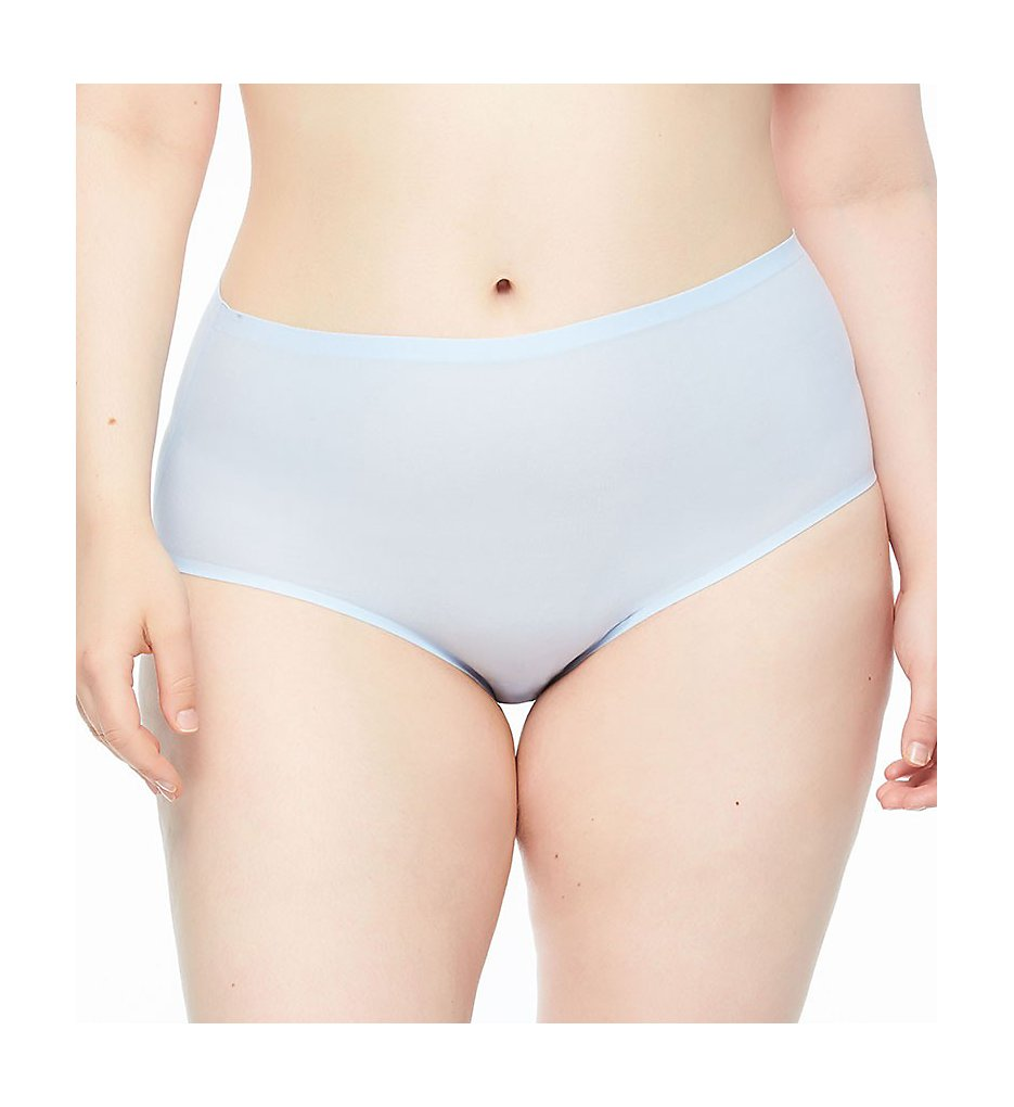 Chantelle - Chantelle 1137 Seamless High Waist Brief Plus Size Panty (Sky Blue O/S)