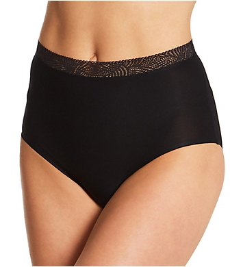 Chantelle Soft Stretch High Waist Brief Panty with Lace