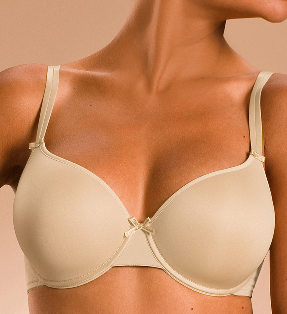 Chantelle 1241 Basic Invisible Memory Foam T-Shirt Bra