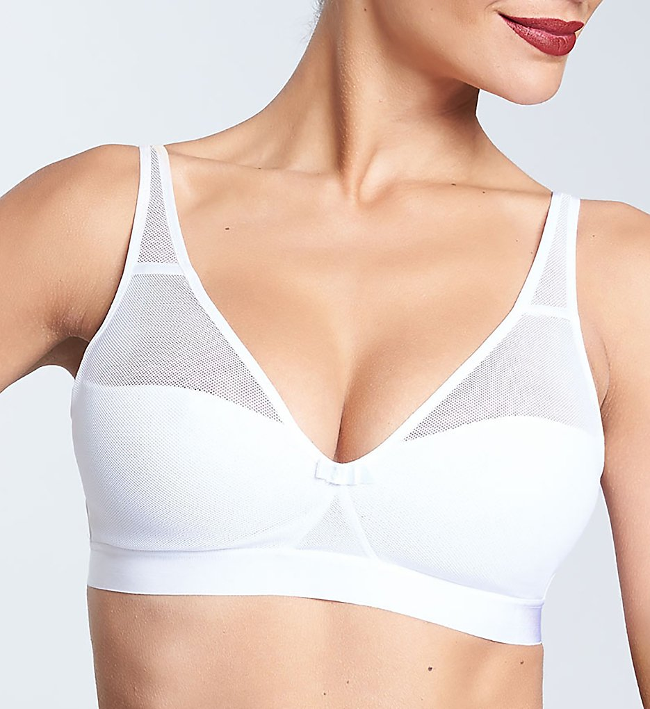 Chantelle - Chantelle 1292 Aeria Spacer Wirefree Bra (White M)