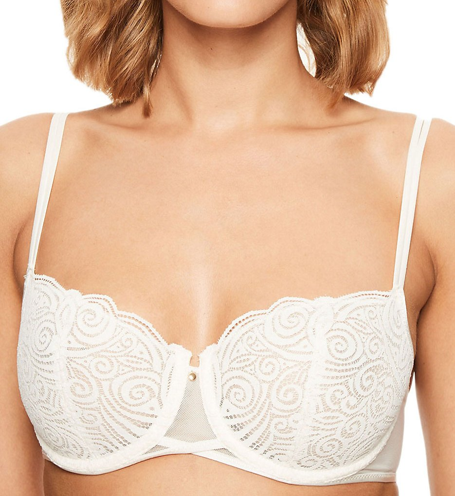 522fcc1a3b Chantelle 1465 Pyramide Lace Unlined Demi Bra