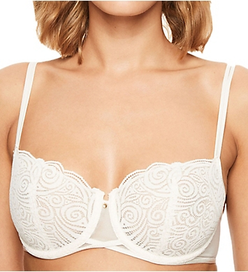 Chantelle Pyramide Lace Unlined Demi Bra