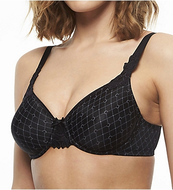 Chantelle Hedona Printed Unlined Seamless Underwire Bra