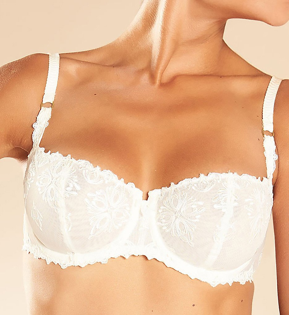 Chantelle 2605 Champs Elysees Lace Unlined Demi Bra