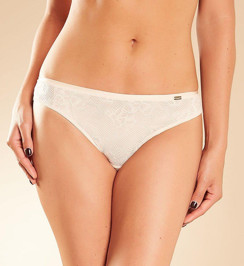 Chantelle - Chantelle 2633 Molitor Lace Cheeky Bikini Panty (Nude Blush L)