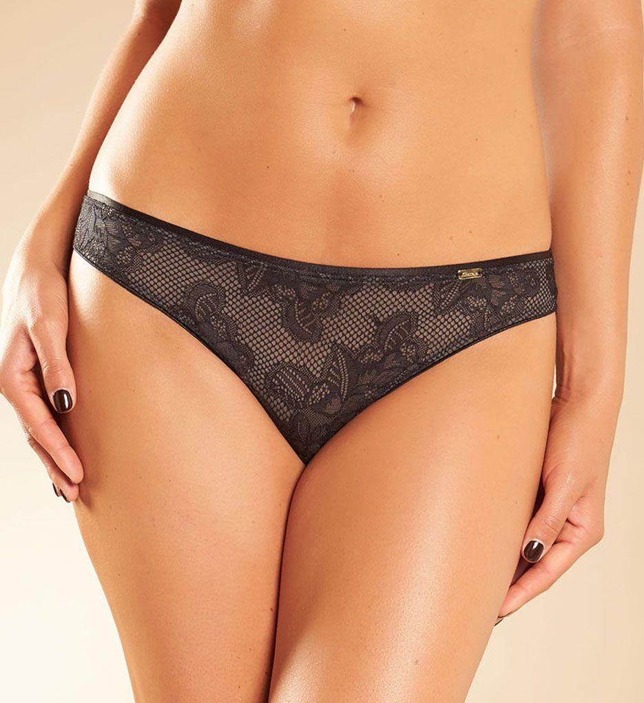 Chantelle Molitor Lace Cheeky Bikini Panty