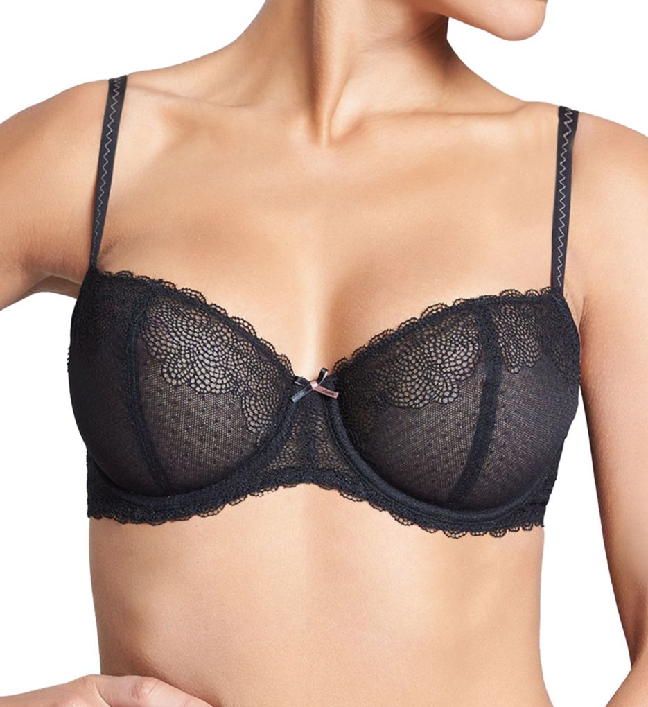 Chantelle Le Marais Lace Underwire Unlined Demi Bra