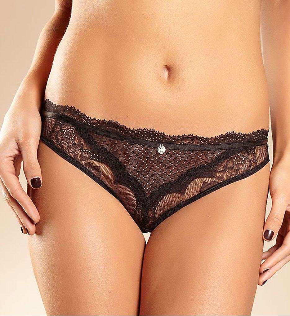 Chantelle - Chantelle 2769 Presage Tanga Panty (Black L)