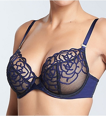 Chantelle Luxembourg Lace Plunge Underwire Bra