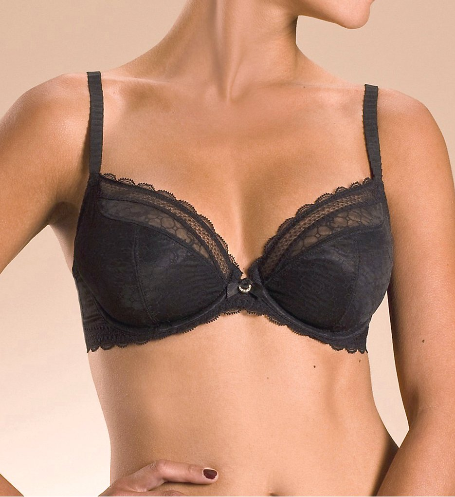 Chantelle 3641 C Chic Sexy 3-Part Plunge Underwire Bra