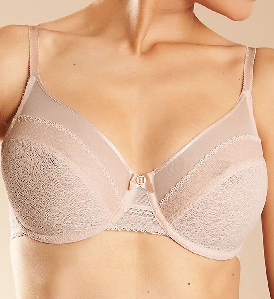 Chantelle - Chantelle 3681 Festivite 2-Part Underwire Bra (Blush 32C)