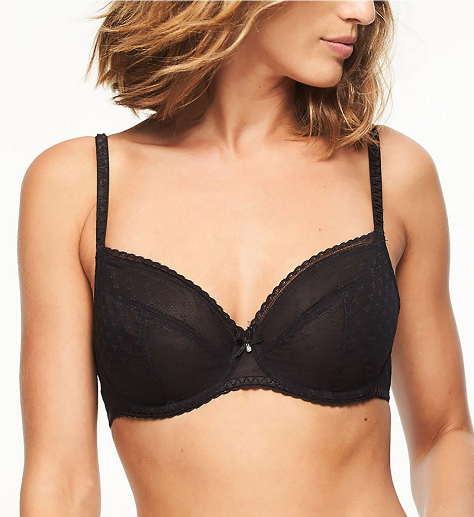 Chantelle 6791 Courcelles Convertible Lace Plunge Bra