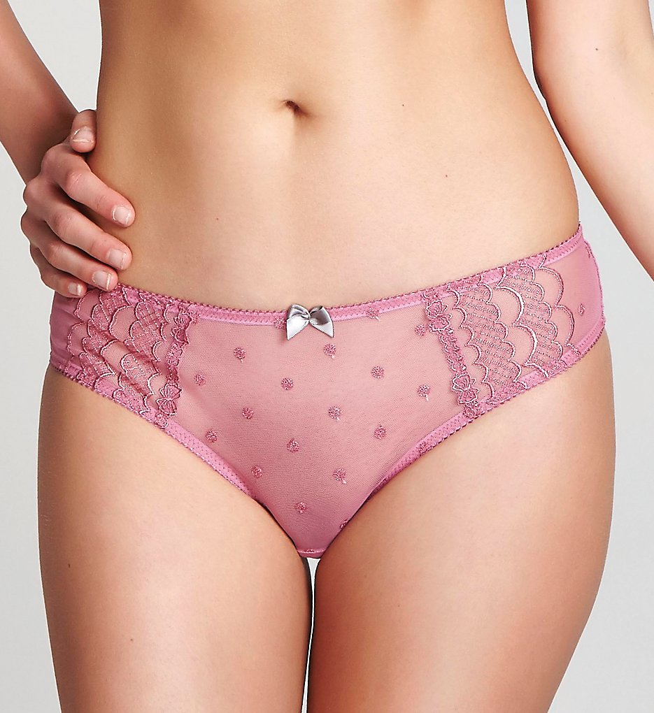 Cleo by Panache : Cleo by Panache 6837 Marcie Brazilian Brief Panty (Dusty Rose S)