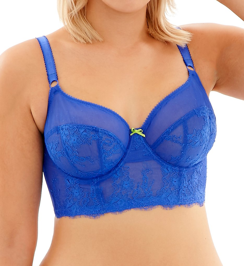 Cleo by Panache - Cleo by Panache 9351 Piper Non Padded Longline Bra (Cobalt 32D)