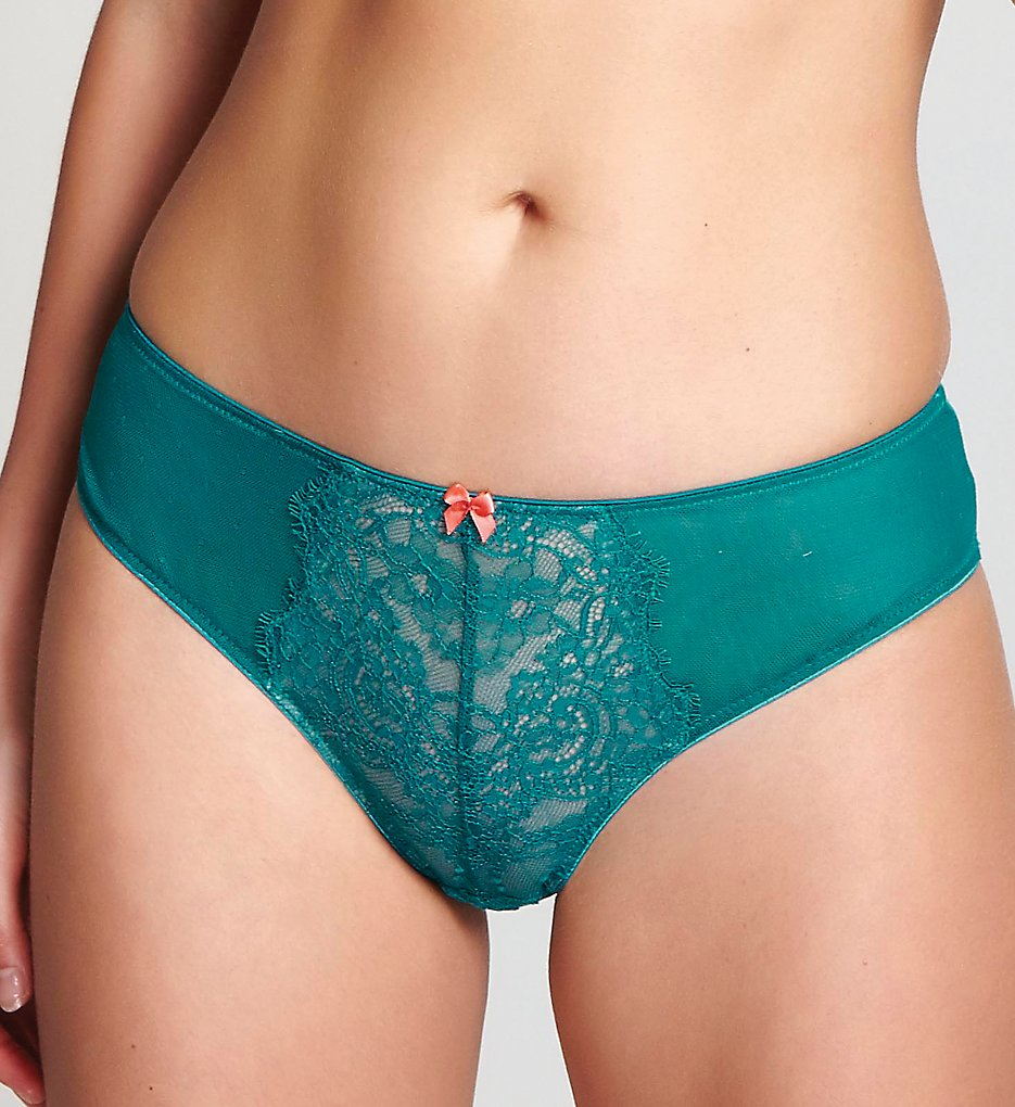 Cleo by Panache - Cleo by Panache 9352 Piper Brief Panty (Emerald/Nude S)