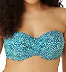 Hattie Twist Bandeau Swim Top