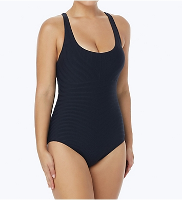 Coco Reef Texture Classic Cut Shaping One Piece Swimsuit