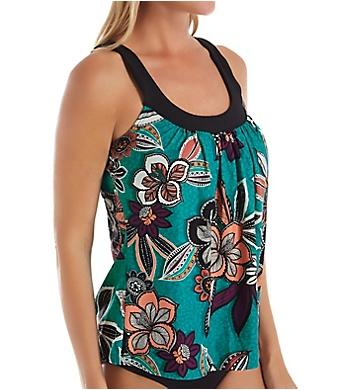 Coco Reef Safari Tropical Ultra Fit Tankini Swim Top