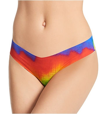 Commando Printed Thong Low-Rise