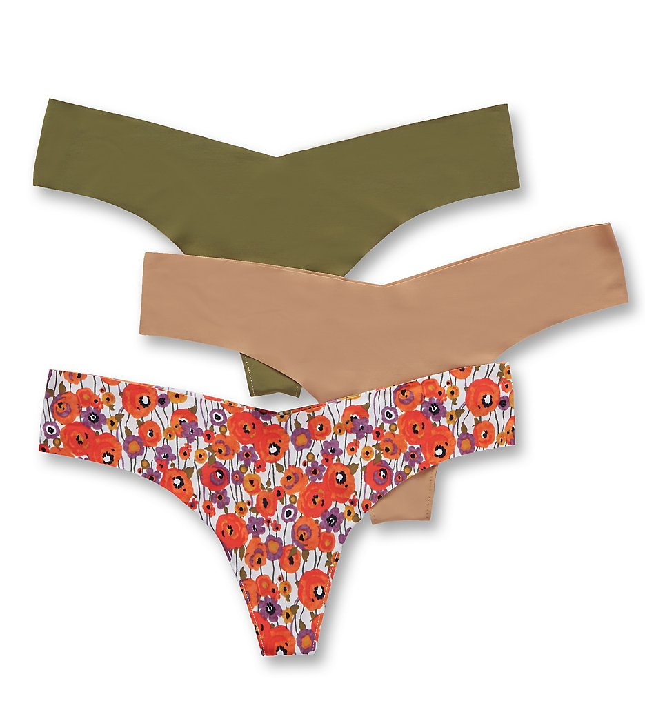 Commando - Commando GP111 Classic Low Rise Thong - 3 Pack (Multi M/L)