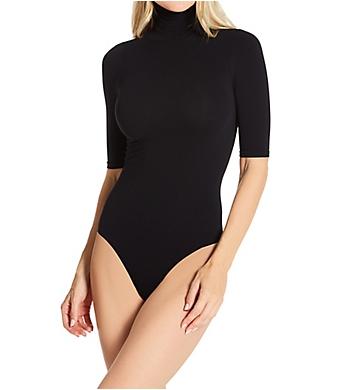 Commando Ballet Body Short Sleeve Turtleneck Bodysuit