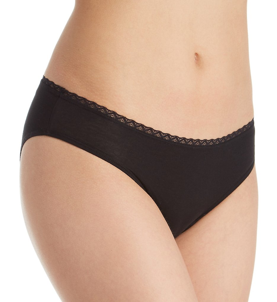 Cosabella - Cosabella LRN0522 Lorena Pima Cotton Bikini Panty (Black S)