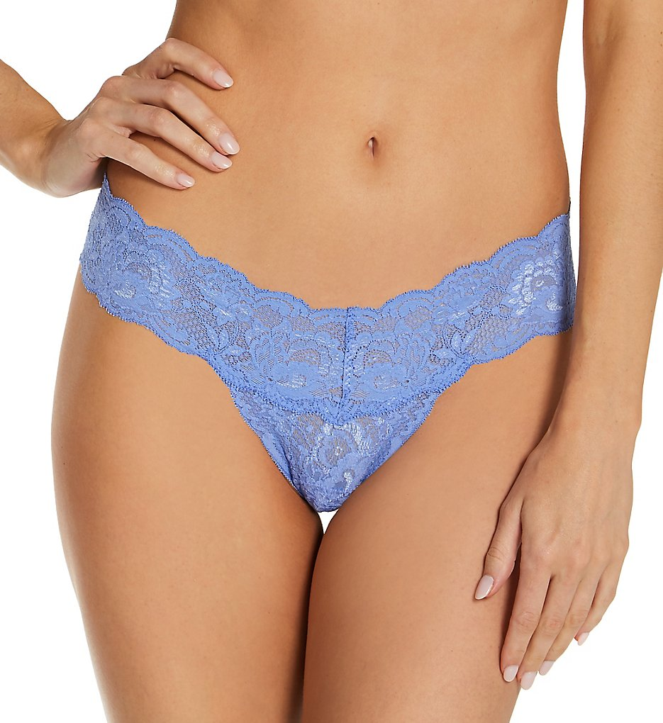 Cosabella Nev03ZL Never Say Never Cutie Low-Rider Lace Thong (Cielo O/S)