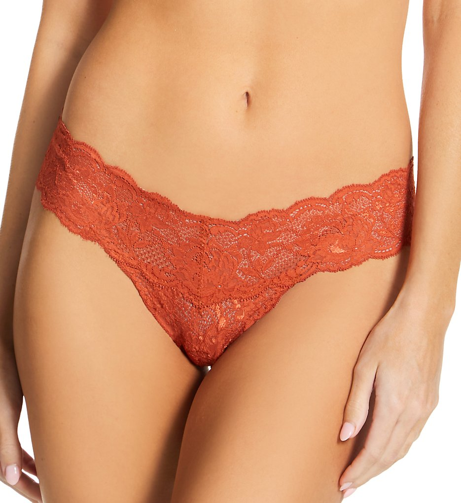 Cosabella Nev03ZL Never Say Never Cutie Low-Rider Lace Thong (Sahara O/S)