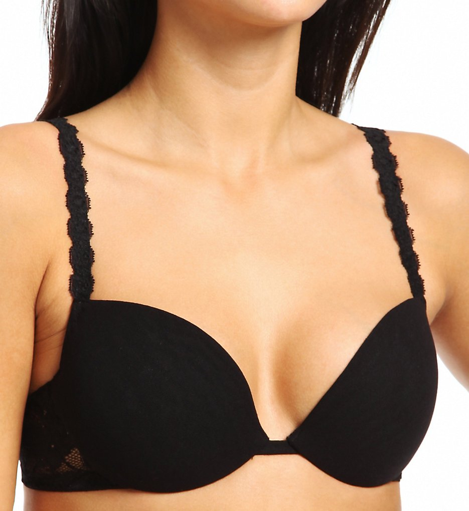 Cosabella : Cosabella nev1132 Never Say Never Beautie Push Up Bra (Black 34D)