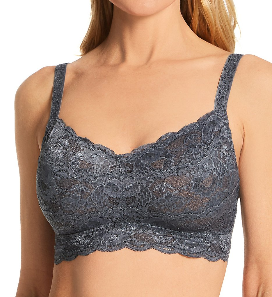 Cosabella NEV1310 Never Say Never Curvy Sweetie Soft Bra (Anthracite)