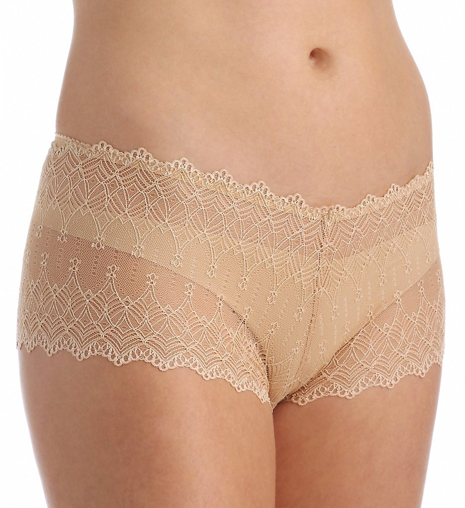 Cosabella - Cosabella Pap0721 Papyrus Low Rise Hotpant Panty (Nude L)