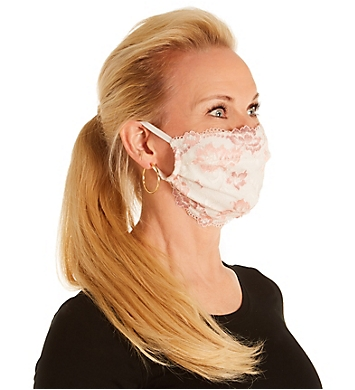 Cosabella Savona Pleated Face Mask