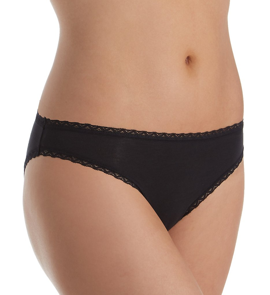 Cosabella - Cosabella SFC0521 Soft Cotton Low Rise Bikini (Black S)