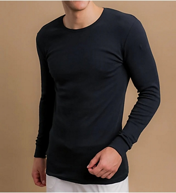 Cottonique Latex Free Organic Cotton Ribbed T-Shirt