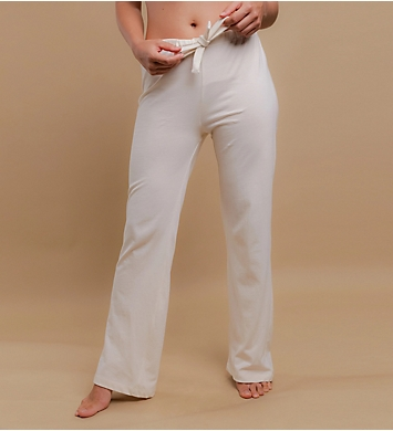 Cottonique Latex Free Organic Cotton Drawstring Lounge Pants