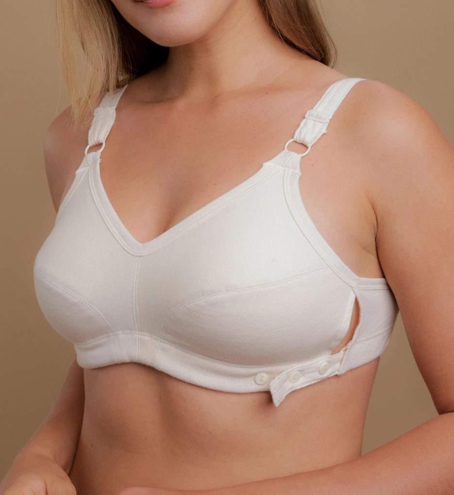 Cottonique Latex Free Slimfit Bra with Adjustable Band