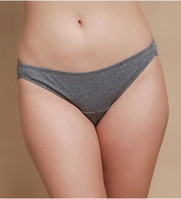 Cottonique Organic Cotton Bikini Brief Panty - 2 Pack