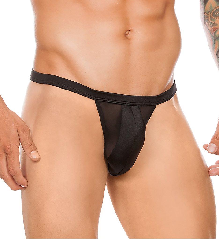 f10ff3dd6843 Cover Male CM169 Daring Slip Sheer Thong (Black)