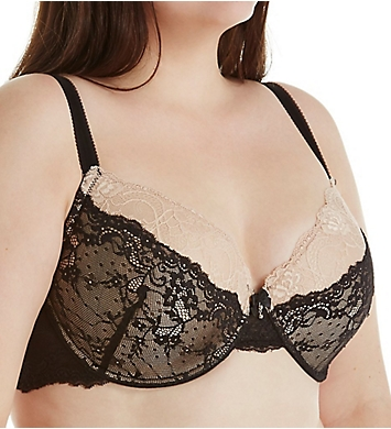 Creme Bralee Bettina Lace Padded Underwire Bra