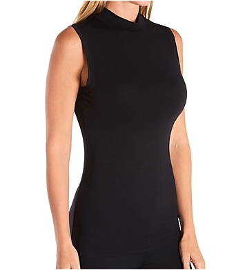 Cuddl Duds Softwear with Stretch Mock Neck Tank